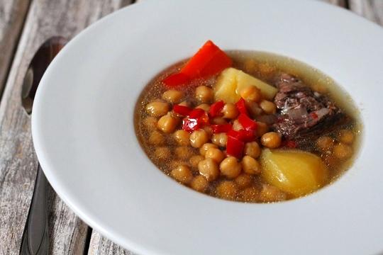 Суп с нутом рецепт в мультиварке