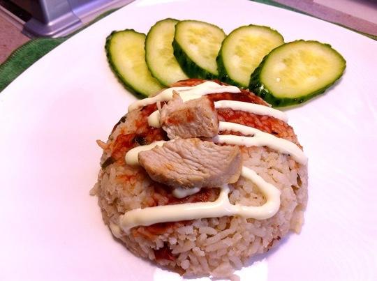 Рис с индейкой в мультиварке
