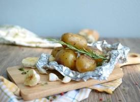 Печеная картошка в фольге