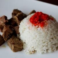 Мясо с рисом