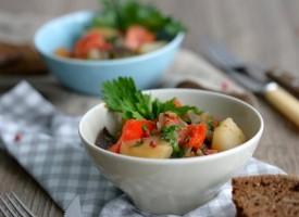 Тушеный овощной гарнир