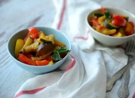 Жареные овощи «Золотой гарнир»