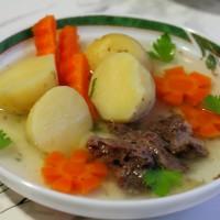 Картофельный суп с овощами