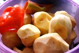 Овощное рагу с мясом в мультиварке