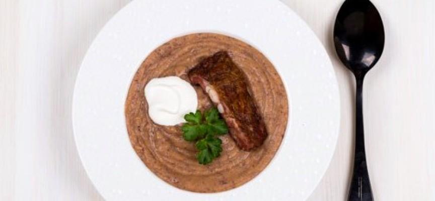Фасолевый суп-пюре