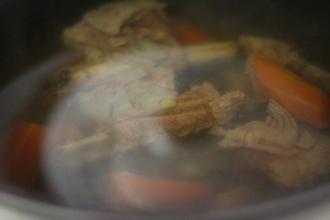 Суп из нута в мультиварке