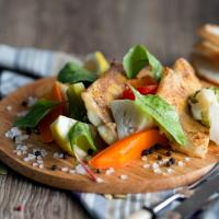 Тилапия на пару с овощами