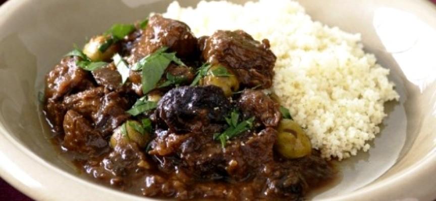 Нежная говядина с черносливом