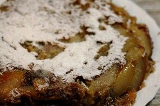 Пирог с грушей в мультиварке