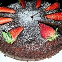 Воздушный шоколадный кекс
