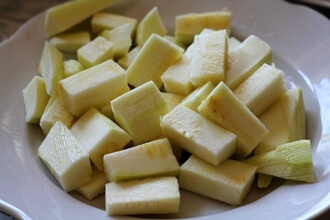 Овощи в соусе в мультиварке