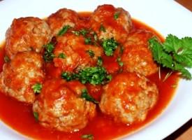 Тефтели в томатной подливе
