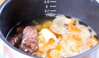 Фасолевый суп пюре в мультиварке