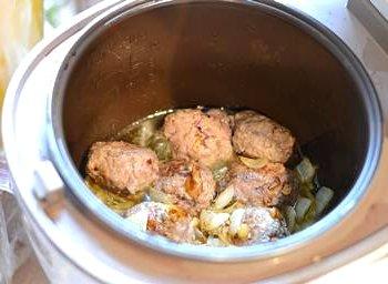 Суп рататуй с фрикадельками в мультиварке